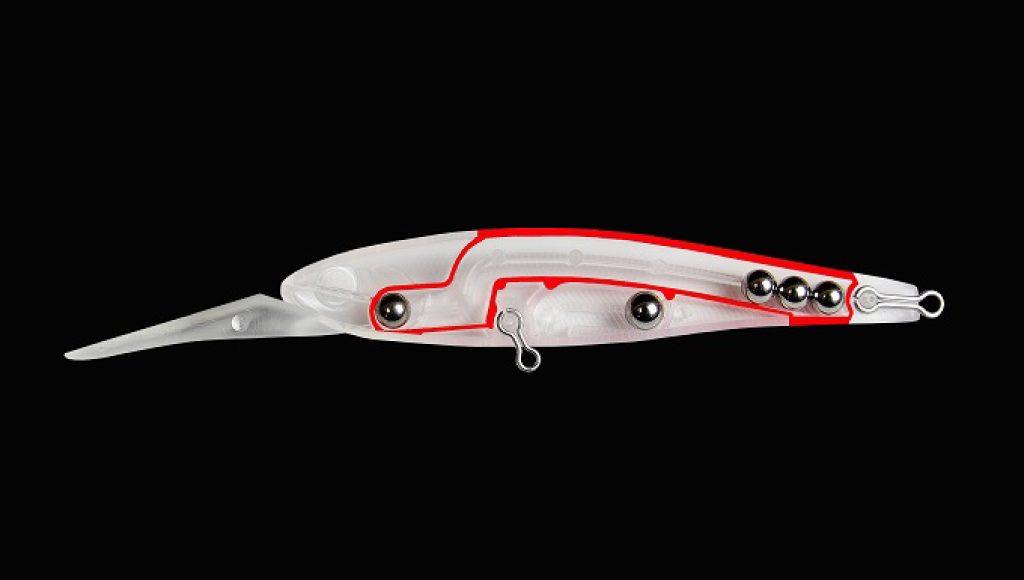 3連重心移動システムによる遠投性能とウェイトバランス