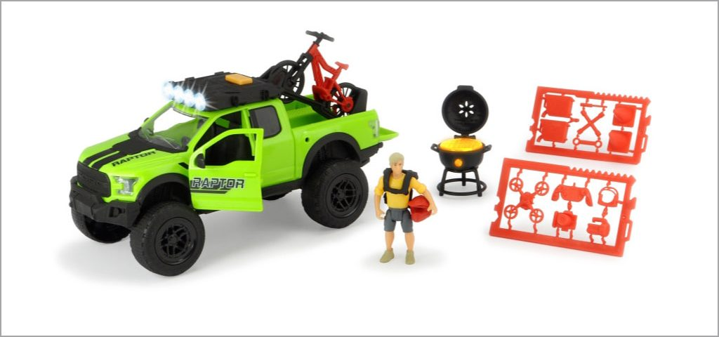 DICKIE TOYS プレイライフ バイクトレイルセット